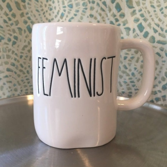 Rae Dunn Other - NWT Rae Dunn FEMINIST Mug Coffee Tea